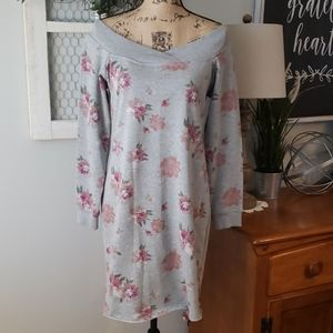 Maurices off the shoulder sweatshirt dress size S